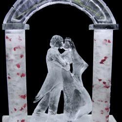 Bride & Groom Ice Sculpture