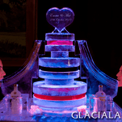 Ice Wedding Cake Luge