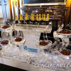 Champagne & Strawberries Ice Bar