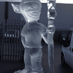 Elf Ice Sculpture