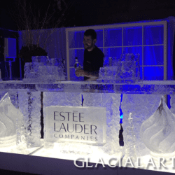 Estee Lauder Ice bar