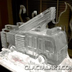 Fire Engine Ice Luge