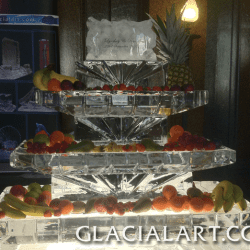 Fruit Display Ice Sculpture