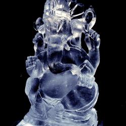 Ganesha Ice Luge