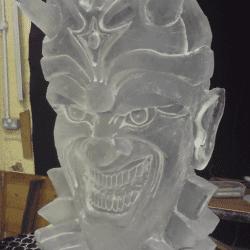 Halloween Ice Sculpture