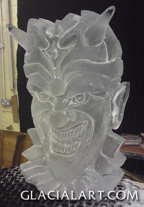 ice sculptures by glacial art