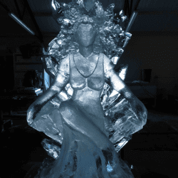 Ice Queen Luge