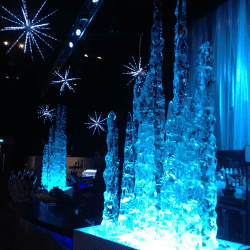 Stalagmite Ice Decorations