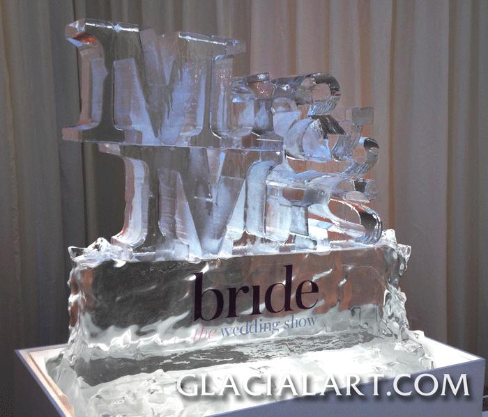 Mr Mrs Ice Sculpture
