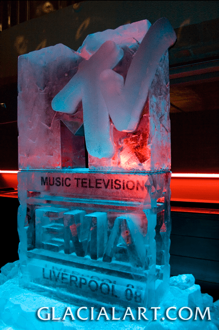 MTV Awards Ice Logo