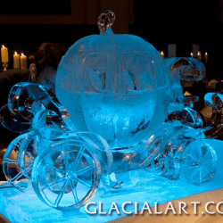 Fairy Tale inspired Ice Pumpkin Carriage