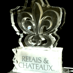 Relais & Chateaux Ice Sculpture