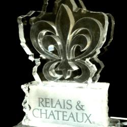 Relais & Chateaux Ice Sculpture