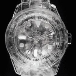 Rolex Watch Ice Sculpture