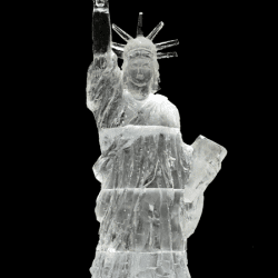 Statue of Liberty Ice Sculpture