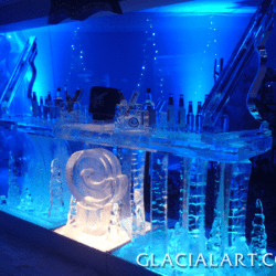 Swirl Ice Bar with Luges