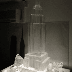 Empire State Building Ice sculpture