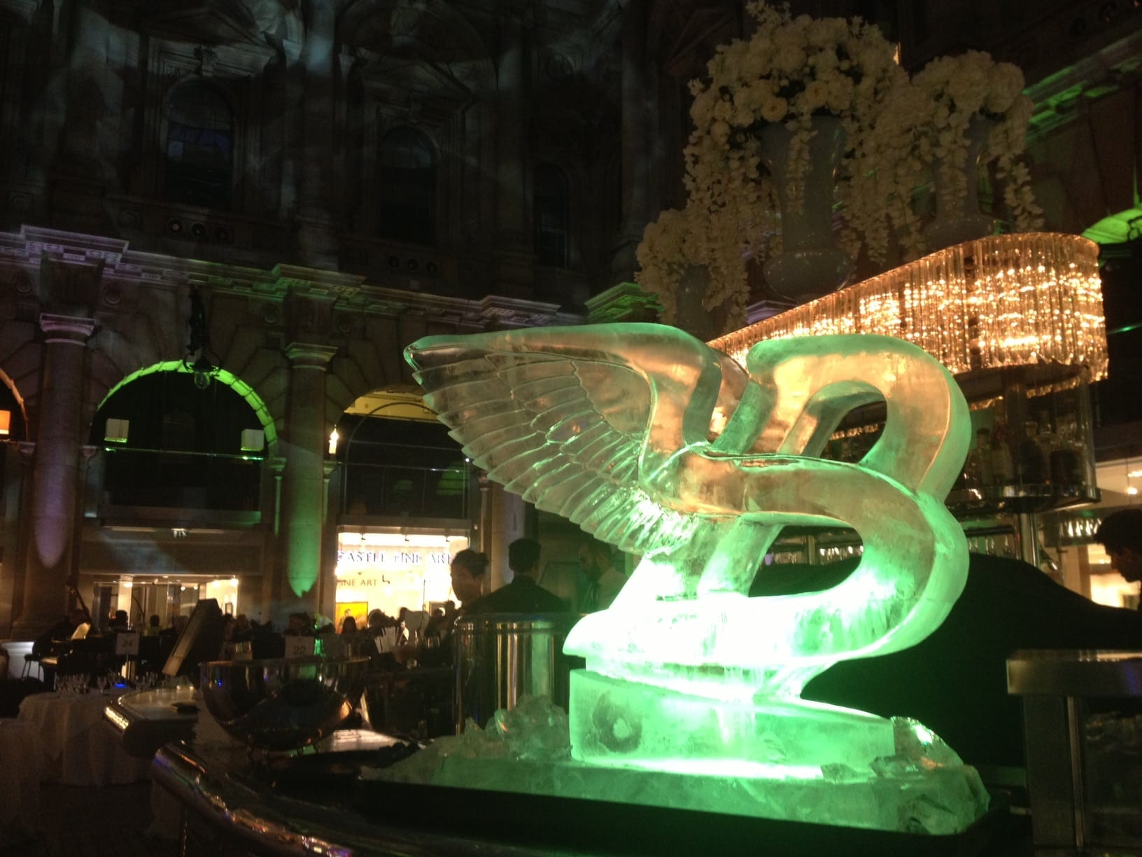 Bentley Ice Sculptures London