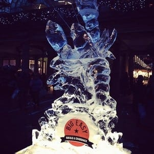 Lobster 21 - Ice Sculpture Commissions In London