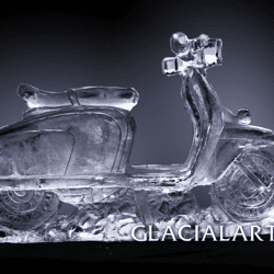 Vespa Scooter Ice Luge