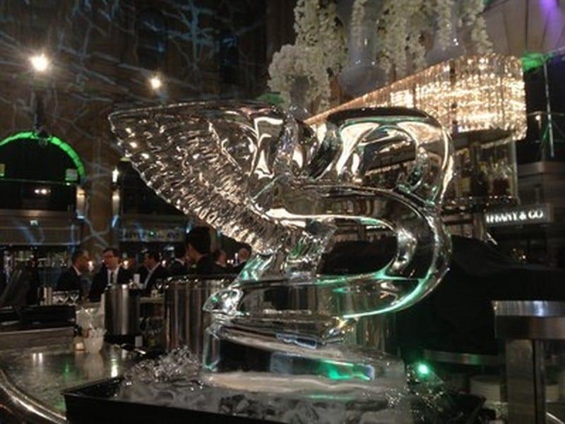 bentley ice sculpture