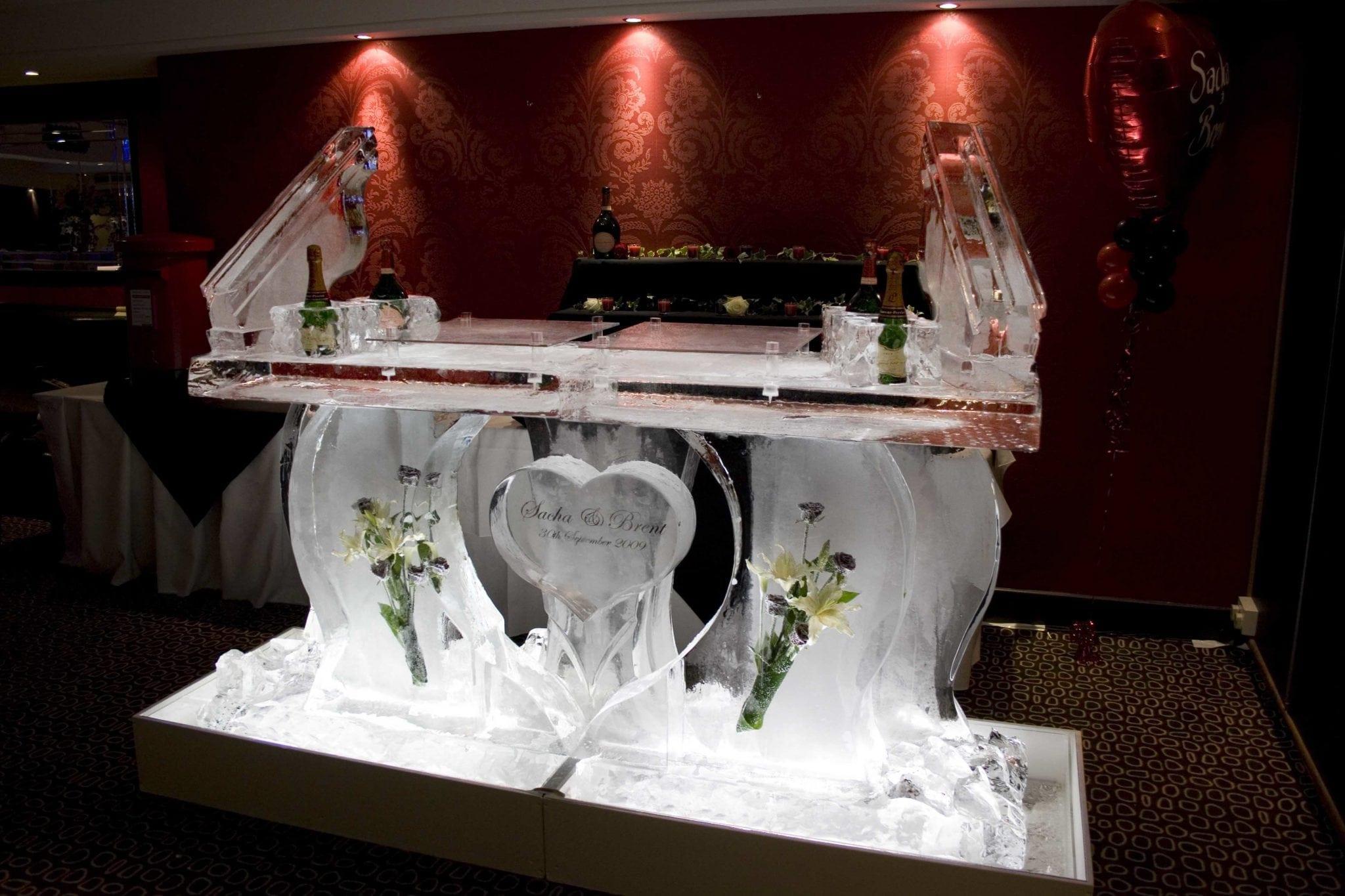 Ice Sculpture Wedding Decorations A Unique Idea