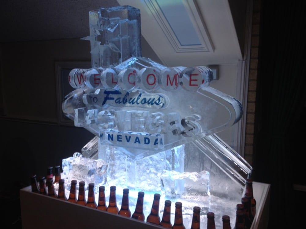 Las Vegas sign luge