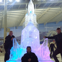Frozen Ice Palace (Don't Tell The Bride)