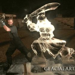 LIVE Carving: Samurai Warrior
