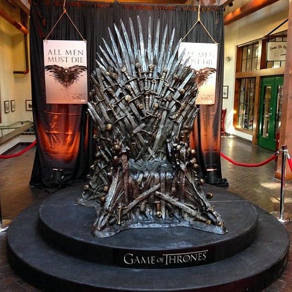 The daunting Iron Throne