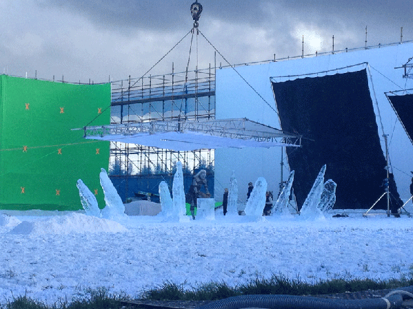 Our Ice Henge from Season 4 episode Oathkeeper