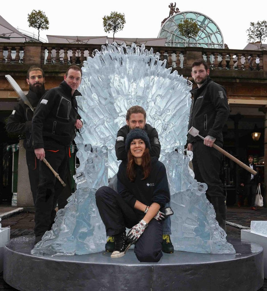 Iron throne & Full Team