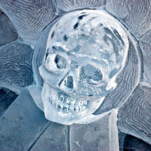 Skull on Pirate ship wheel 300x300 - Legendary Return to the York Ice Trail