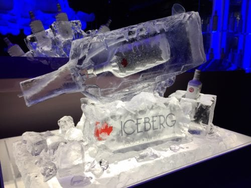 Iceburg vodka luge 500x375 - Ice Sculptures 101